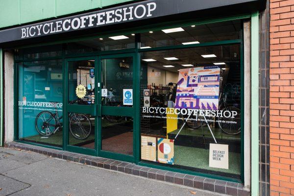 Bicycle Coffee Shop Joe Laverty